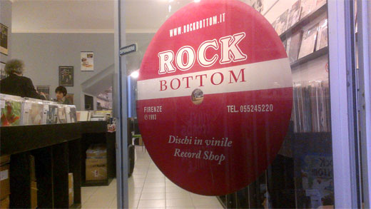 Rock Bottom Records - Florence, Italy