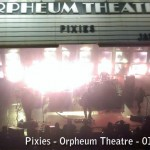 Gouge Away  – Review of the Pixies at Orpheum Theatre